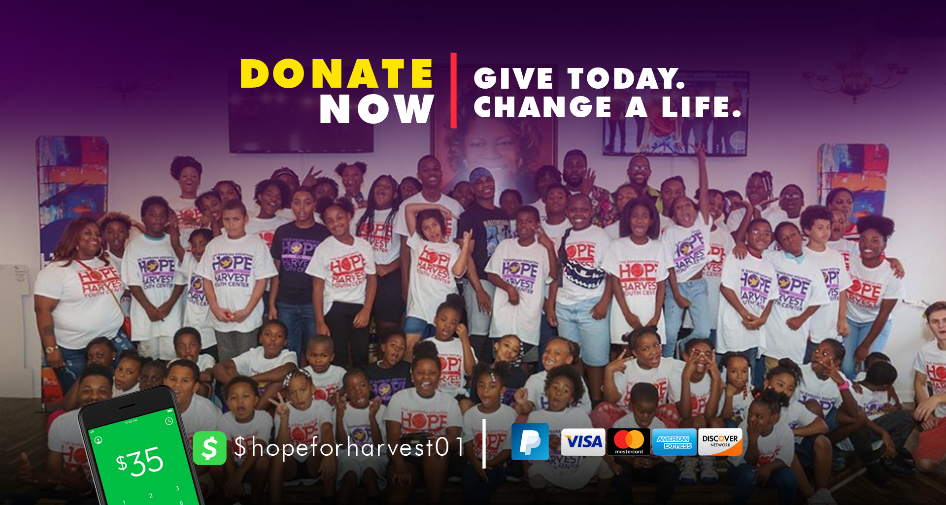 Give Today. Change A Life.